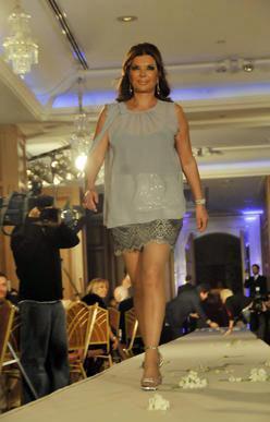 Bir dönem TV dizilerinde oynayan Bahar Verel, iki yıl önce düzenlenen özel bir gecede de podyuma çıkmıştı.