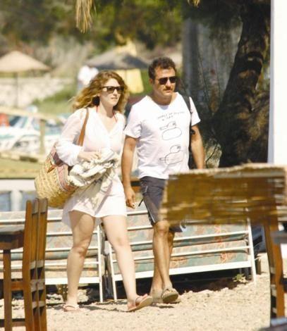 Gölköy yakınlarında tatil yapan ikili önceki gün böyle görüntülendi.