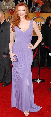 Bu ironinin sahibi 45 yaşındaki güzel oyuncu Marcia Cross…