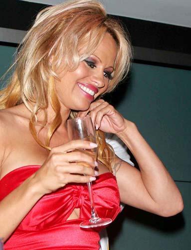 40 yaşındaki doğal sarışın Pamela Anderson elleriyle de konuşmuyor mu sizce de?