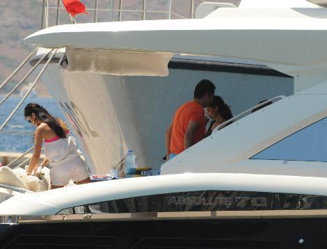 Acun Ilıcalı'nın tekne gezisinden fotoğraflar.. - 11