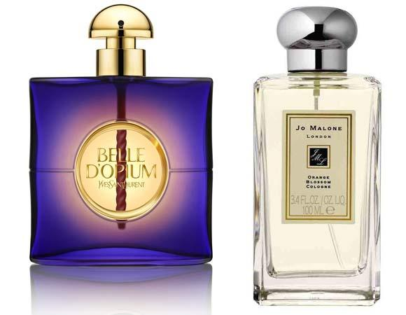 """10.PARFÜM Gecenin asıl görünmez kahramanı mat pudra değil, etkisi kalıcı, kokusu unutulmaz bir parfümdür. Feminen, çekici ve baş döndüren bir parfüm. Çantanızla ayakkabınızı eşleştirmek eskilerde kaldı. Seçenekler arasında kararsızsanız elbisenizin tarzıyla parfümünüzü eşleştirin yeter. Uzun kollu, sırt dekolteli siyah bir elbiseyle Yves Saint Laurent """"Belle D'Opium', mercan rengi ipek bir tulumla Jo Malone 'Orange Blossom' ve beyaz smokinle Maison Martin Margiela 'Untitled'."""