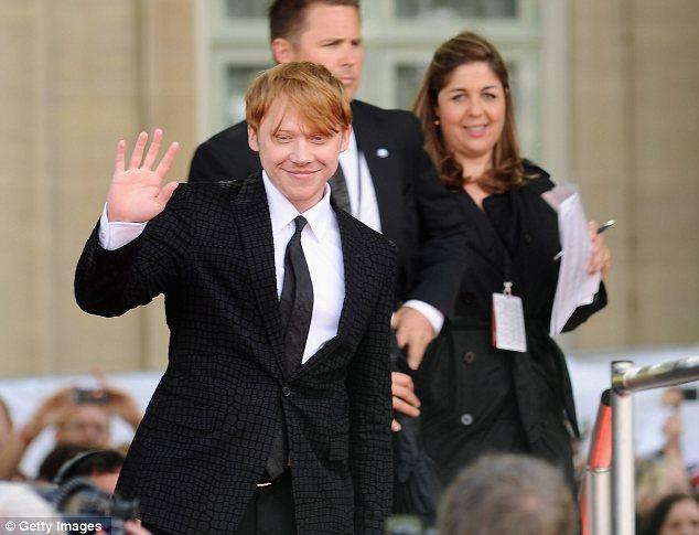 Rupert röportajında Harry Potter efsanesinin bittiğine inanamadığını söyledi.