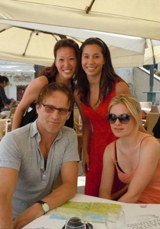True Blood dizisinin yıldızları Anna Paquin ve Stephen Moyer'ın balayı mekanı İtalya'daki Ravello'ydu.