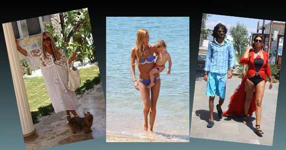 Ünlülerin 2011 model plaj fotoğrafları magazin gündeminde yer almaya başladı.