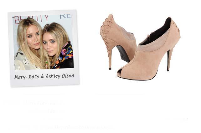 Ünlü: Mary-Kate ve Ashley Olsen - Marka: Elizabeth and James Neden sevdik?: Bu ayakkabı genç tasarımcıların edgy ve eklektik tarzını çok iyi yansıtıyor. İkilinin cool-chic tarzından biraz da siz istiyorsanız, aradığınız ayakkabı bu.