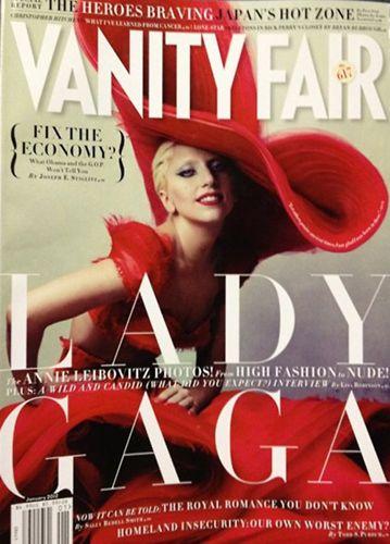 Her yaptığı olay olan pop müziğin kraliçesi Lady Gaga, Vanity Fair dergisinin Ocak sayısı için yine konuşulacak pozlar verdi.
