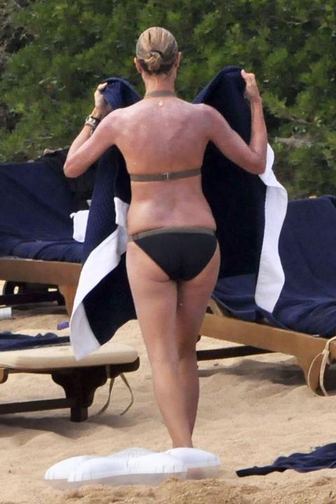 Heidi Klum'un üstsüz tatili - 25