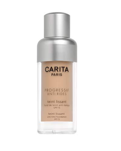 9- CARITA, Tient Lissant, Anti Time Foundation in Light Beige, SPF 15, fondöten, 30 ml, 130 TL
