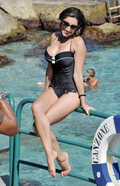 Kelly Brook'tan bikini şov.. - 54