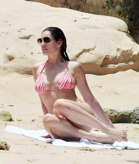 Kelly Brook'tan bikini şov.. - 60