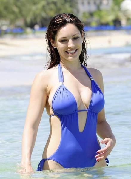 Kelly Brook'tan bikini şov.. - 86