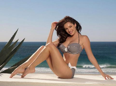 Kelly Brook'tan bikini şov.. - 151