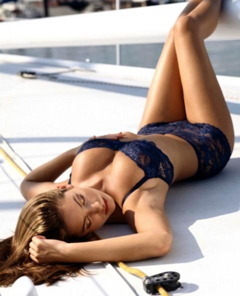 Kelly Brook'tan bikini şov.. - 167