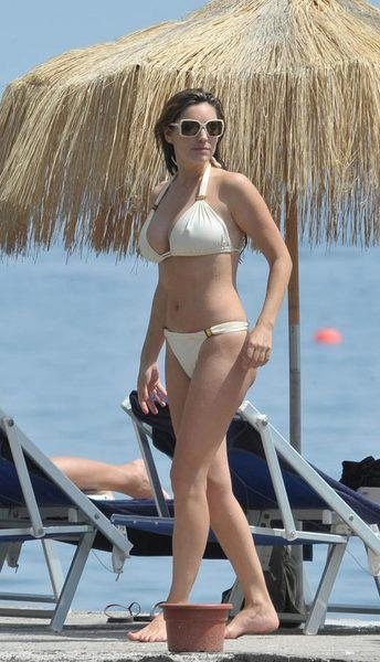 Kelly Brook'tan bikini şov.. - 201