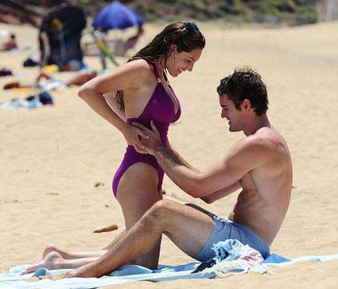 Kelly Brook'tan bikini şov.. - 206
