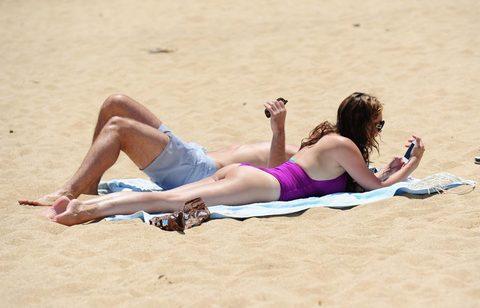 Kelly Brook'tan bikini şov.. - 213