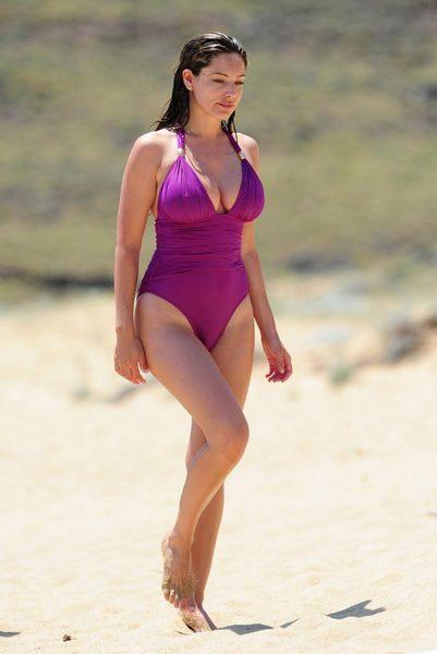 Kelly Brook'tan bikini şov.. - 226