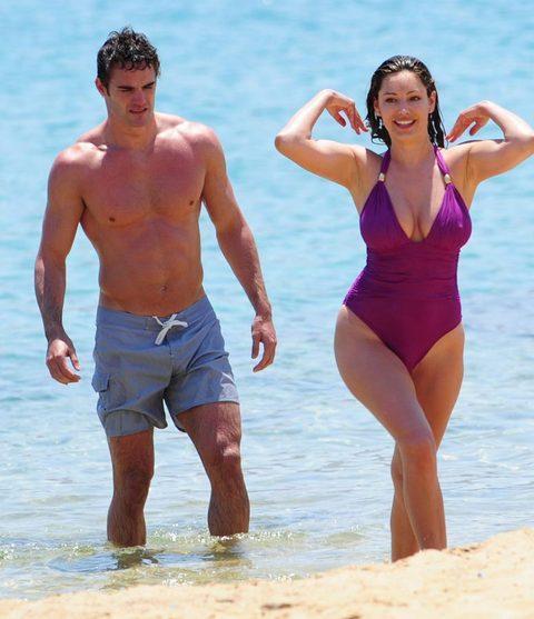 Kelly Brook'tan bikini şov.. - 227