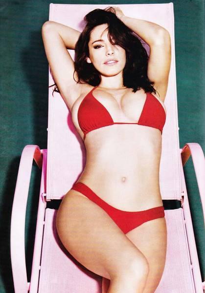 Kelly Brook'tan bikini şov.. - 230