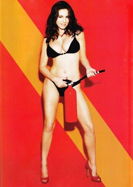 Kelly Brook'tan bikini şov.. - 231