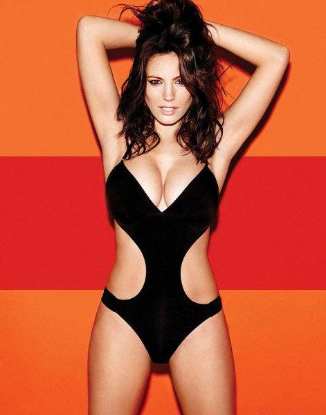 Kelly Brook'tan bikini şov.. - 235