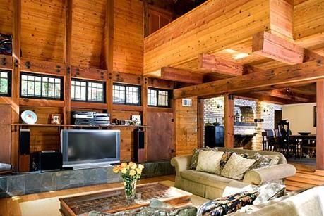 Nicole Richie ve uzatmalı nişanlısı Joel Madden'ın sahip olduğu evlerden biri...