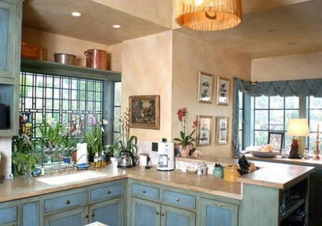 Mutfaktan bir görüntü.
