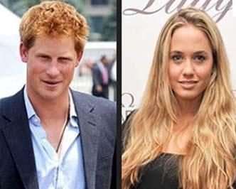 Ağabeyi Prens William'ın evlenmesinden sonra popülaritesi artan Harry, şimdi de iç çamaşırı mankeni Florence Brudenell-Bruce ile birlikte.