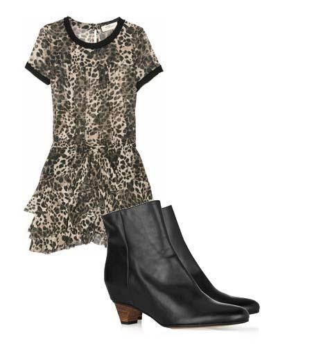 Yazlık elbiselerinizi botlarla tamamlamaya ne dersiniz? Hem böylece yavaş yavaş kendinizi yaklaşmakta olan sonbahar sezonuna hazırlamış olursunuz. Elbise: Etoile Isabel Marant Ayakkabı: Maison Martin Margiela