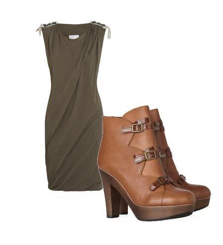 Yazlık elbiselerinizi botlarla tamamlamaya ne dersiniz? Hem böylece yavaş yavaş kendinizi yaklaşmakta olan sonbahar sezonuna hazırlamış olursunuz. Elbise: 3.1 Philip Lim Ayakkabı: See by Chloé