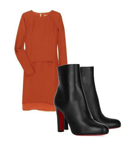 Yazlık elbiselerinizi botlarla tamamlamaya ne dersiniz? Hem böylece yavaş yavaş kendinizi yaklaşmakta olan sonbahar sezonuna hazırlamış olursunuz. Elbise: Reed Krakoff Ayakkabı: Christian Louboutin