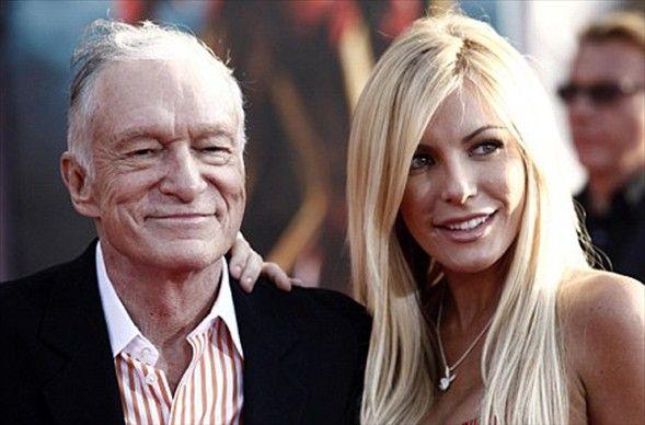 Playboy dergisinin 84 yaşındaki kurucu patronu Hugh Hefner, kendinden 60 yaş küçük Crystal Harris'le nişanlandı.