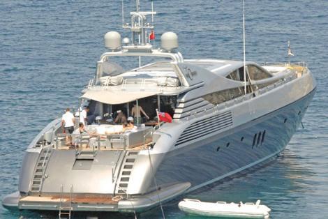 Sıfır modelleri 4 milyon euro civarında olan tekneyi Bilgili, ikinci el olarak satın almış.
