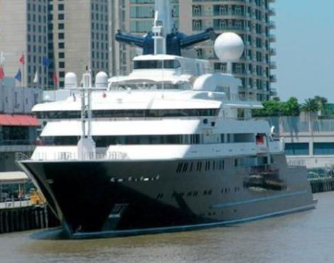 Gates'in 'Octopus' isimli yatı 413 feet boyunda olup 250 milyon Dolar değerinde.