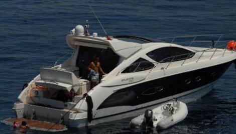Çift tekneye isim verirken kızları Su'nun isminden yola çıktı.