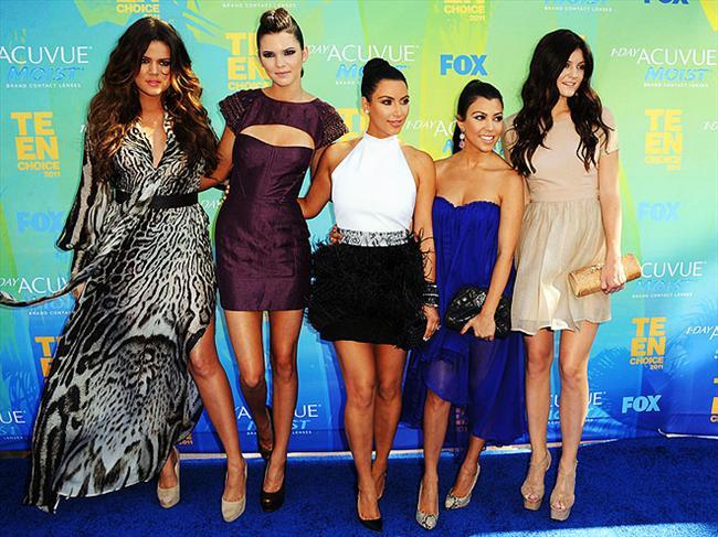 Kardashian ve Jenner kardeşler.