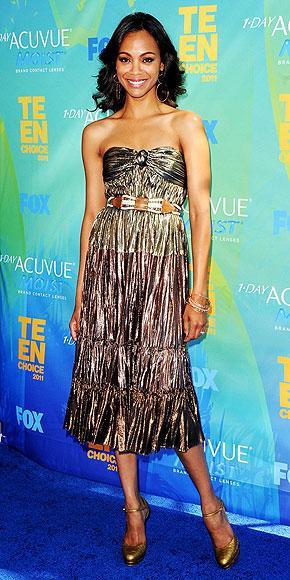 Avatar filminin yıldızı Zoe Saldana