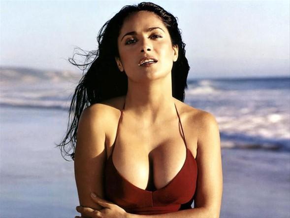 SALMA HAYEK - LÜBNAN   Meksika'da doğan güzel oyuncunun babası Lübnanlı, annesi Meksikalı...