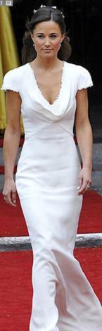 Ama moda uzmanları Pippa Middleton'ın kalçasının aslında ablasının düğün günü göründüğü gibi kusursuz olmalabileceğini ileri sürdü.