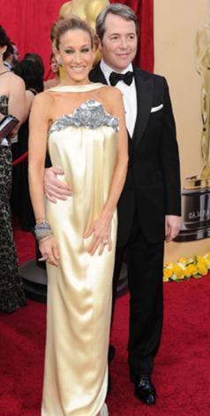 Sarah Jessica Parker ilk bakışta çok hoş görünüyor.