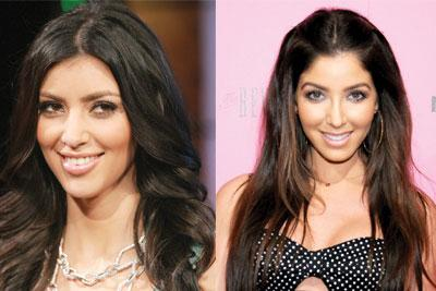 Sosyetik  Kim Kardashian popüler bir Amerikan giyim zincirinin son reklam kampanyalarında ona benzeyen bir modelin kullanılmasıyla, markanın patronlarına karşı yasal bir savaş başlattı.