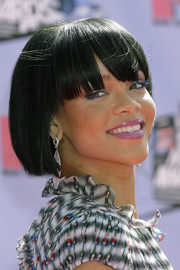 Saç cambazi Rihanna - 33