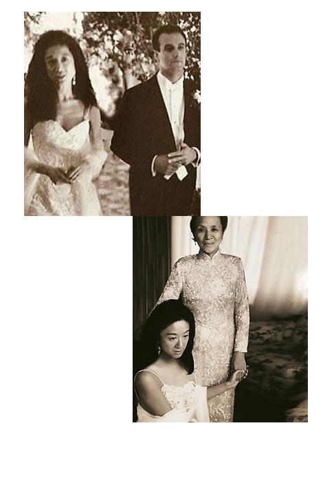 Vera Wang Bütün dünyada gelinlikleriyle tanınan ve beğenilen bir modacı olmadan önce, Vera Wang 1989 yılındaki düğünü için kendi gelinliğini dikmişti.