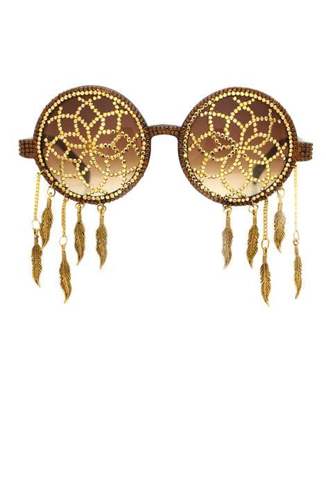 Santana 24 karat altın, Swarovski ve kristalden elde işlenmiş gözlük, A-Morir