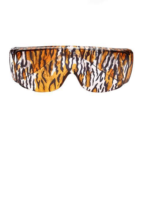 Bleu Dame leopar desenli güneş gözlükleri