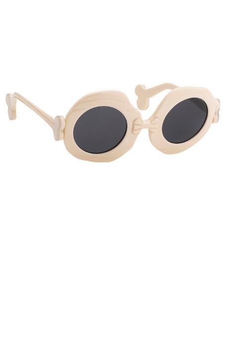 Bone güneş gözlüğü, Jeremy Scott x Linda Farrow
