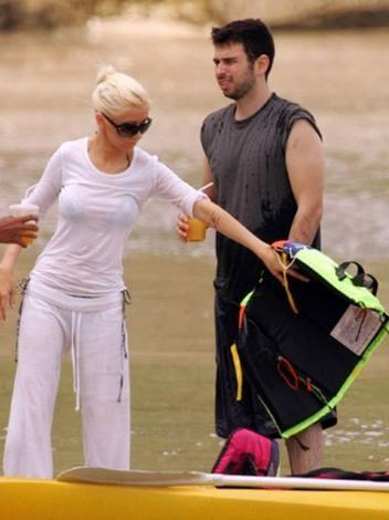 Christina Aguilera ve Jordan Bratman,Bali'deydi.