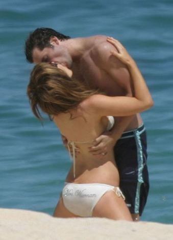 Kate Beckinsale ve Len Wiseman, balayı için Karayipler'e gitti.