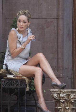 Sharon Stone'den seksi kareler.. - 3